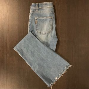 NWT Paige High Rise Skinny Flare Jean, size 28